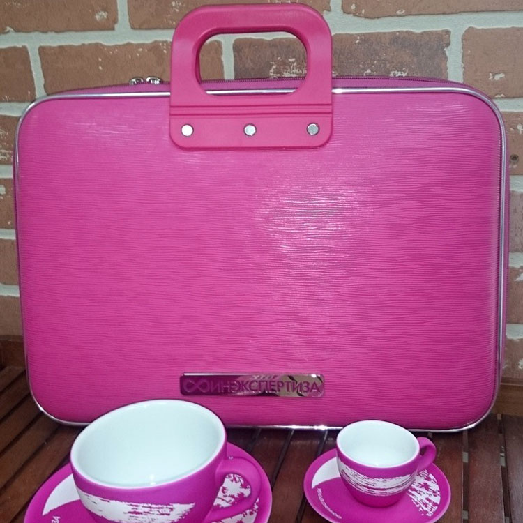 Business briefcase and a tea/coffee couples custom design